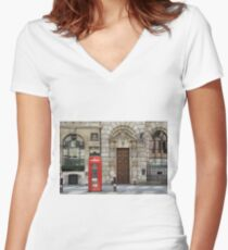 The Strand Women's Fitted V-Neck T-Shirt