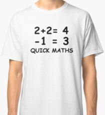 Big Shaq - Quick Maths Roadman Meme Shirt Classic T-Shirt