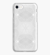 Seamless Texture. Element for Design. Ornamental Backdrop. Pattern Fill. Ornate Floral Decor for Wallpaper. Traditional Decor on White Background iPhone Case/Skin