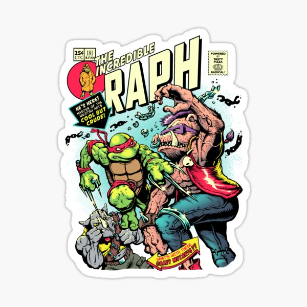 Incredible Raph Sticker