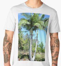 Palm tree garden Men's Premium T-Shirt