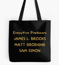 The Simpsons closing credits Tote Bag