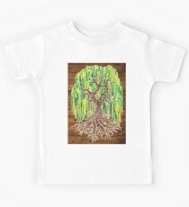 Weeping Willow Tree - Natural (infilled) Kids Clothes