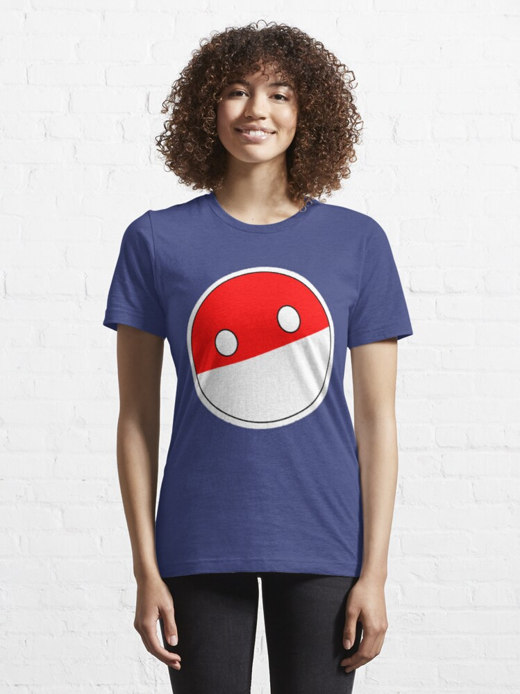 Alternate view of Polandball | Countryball Essential T-Shirt