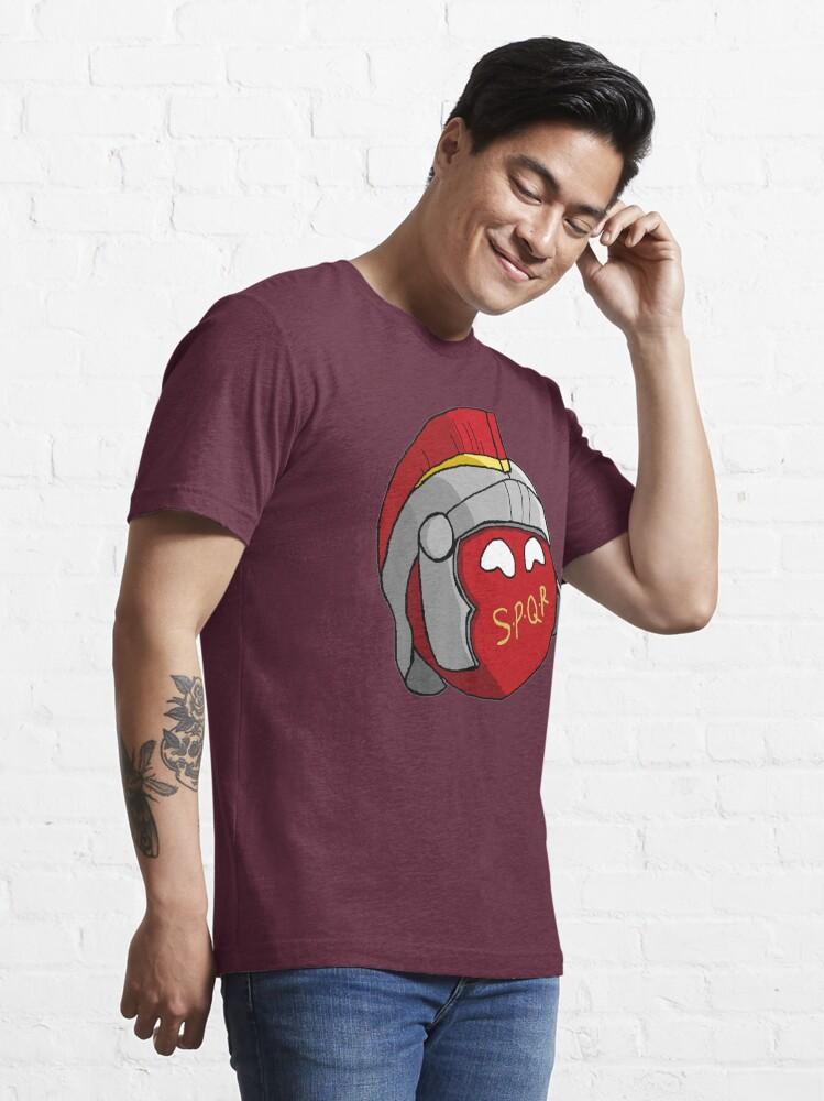 Alternate view of SPQR Ball RomeBall  Essential T-Shirt