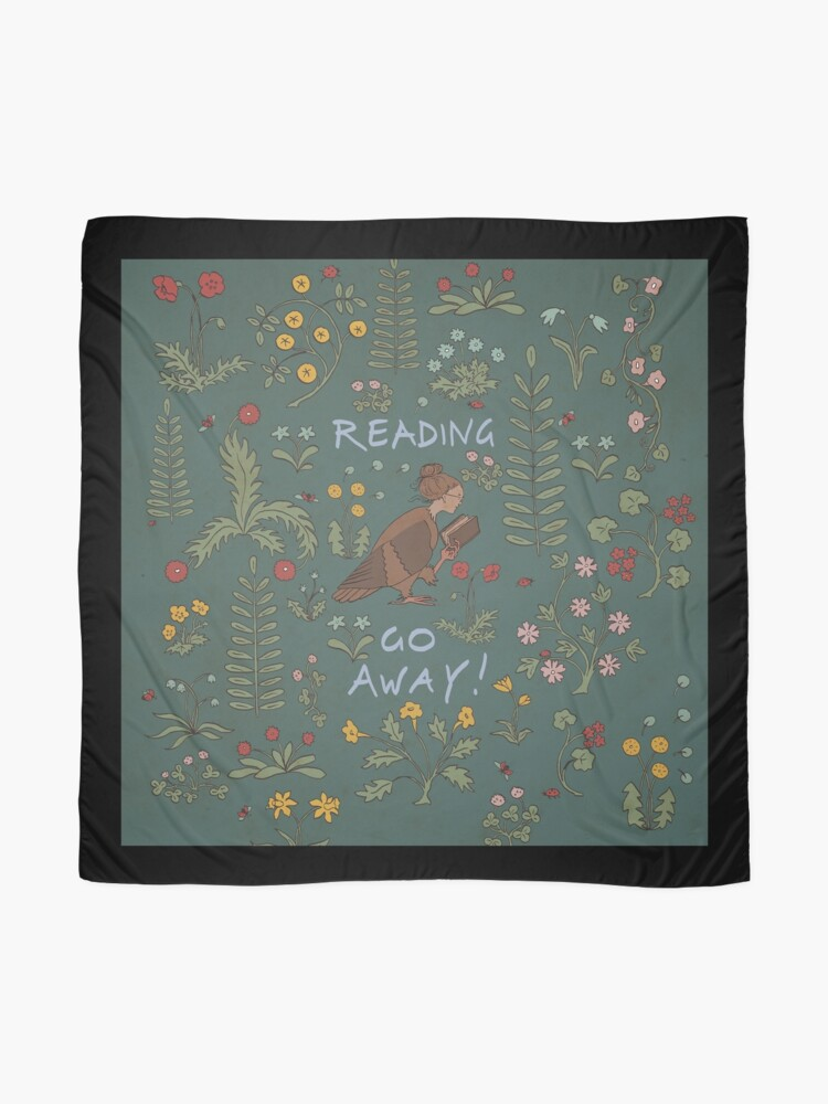 Alternate view of Reading - Go Away Scarf