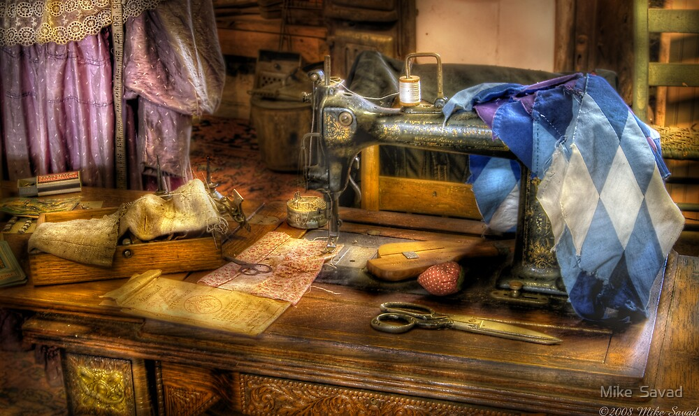 Sewing Machine III by Michael Savad