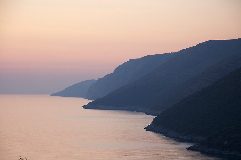 Soft Adriatic Sunset by edesigned
