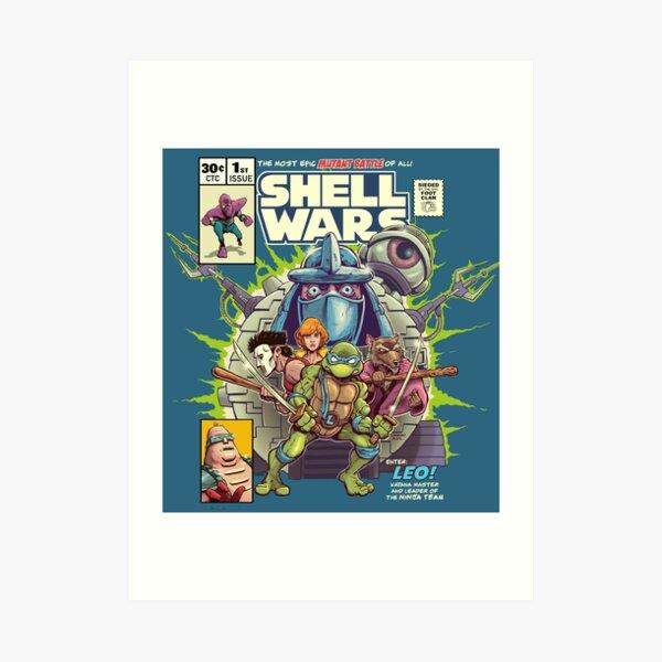 Shell Wars Art Print