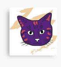 Cat sketch 4 Canvas Print