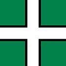 Devon Flag Phone Cases by mpodger