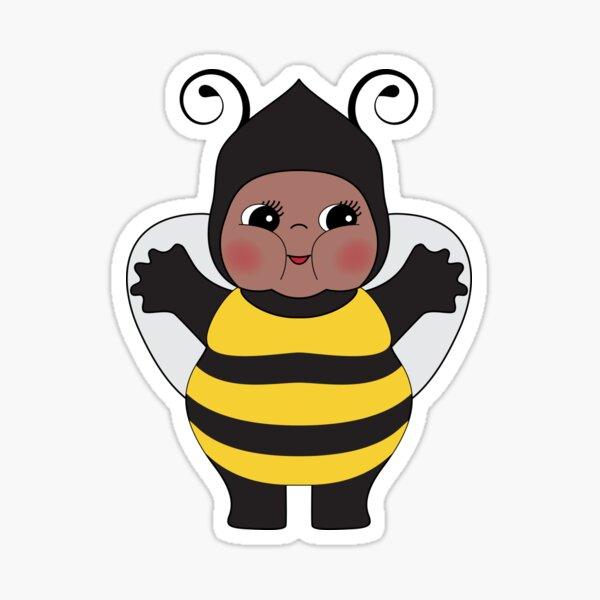 Chubby Bee Kewpie Sticker