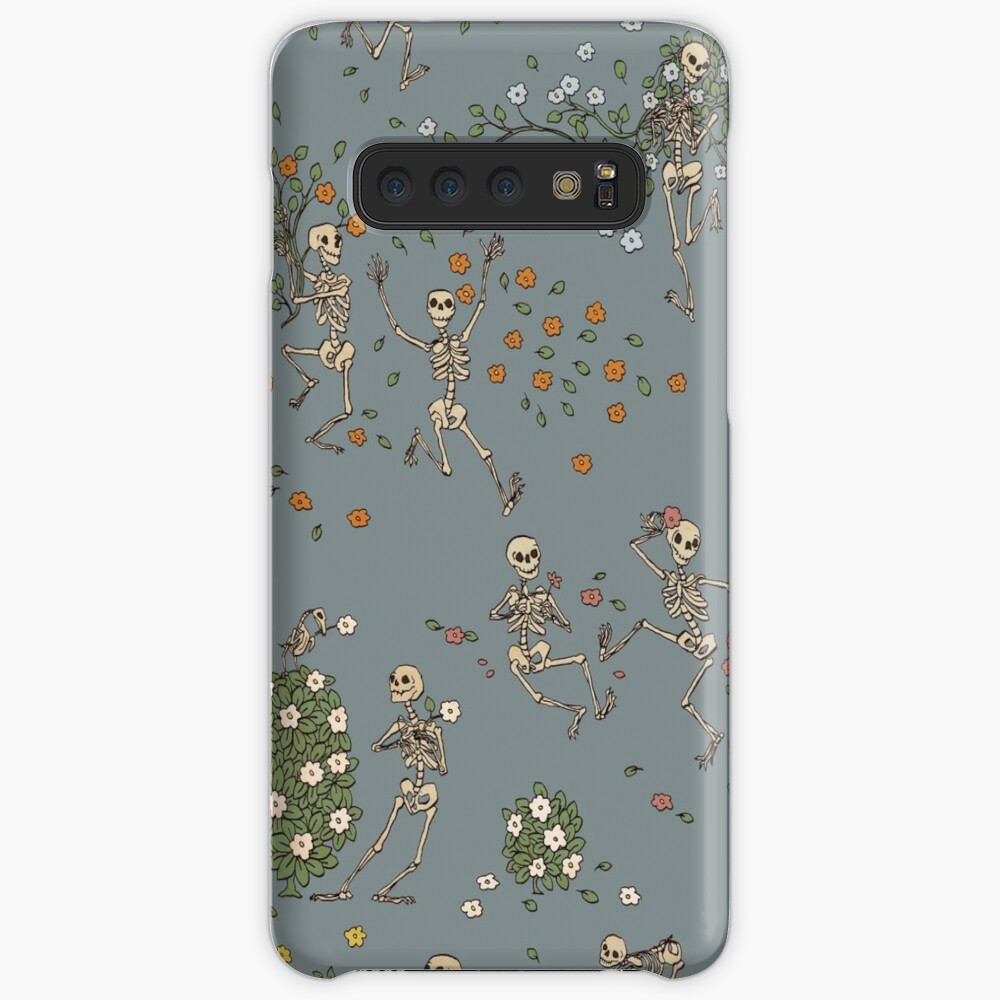 Skeletons with garlands Case & Skin for Samsung Galaxy
