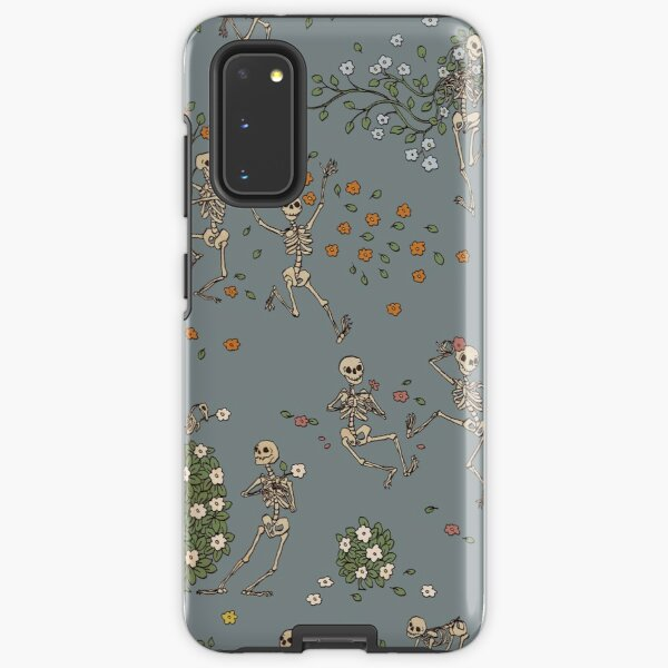 Skeletons with garlands Samsung Galaxy Tough Case