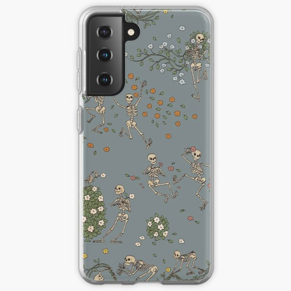 Skeletons with garlands Samsung Galaxy Soft Case
