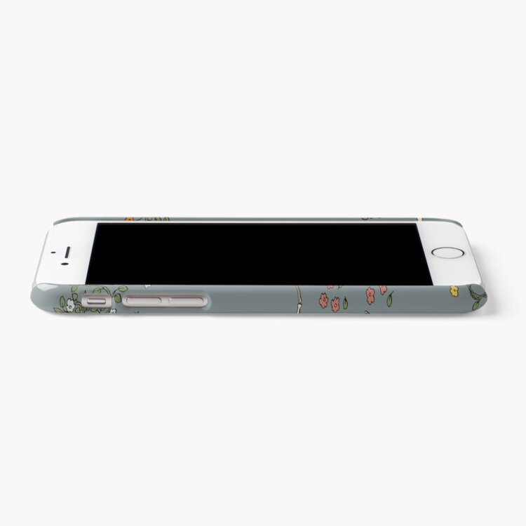 Alternate view of Skeletons with garlands iPhone Case & Cover