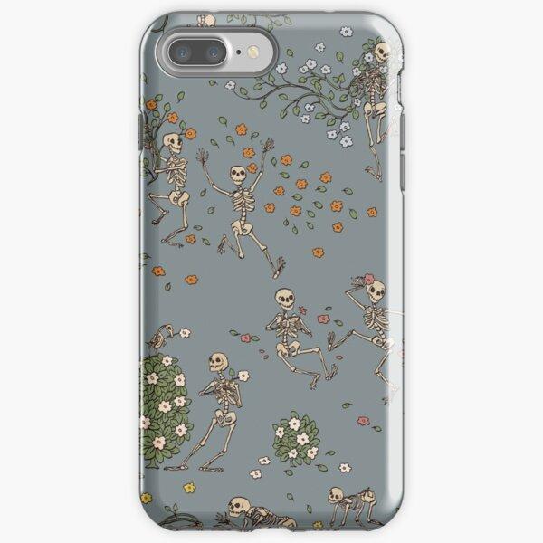 Squelettes avec des guirlandes Coque antichoc iPhone