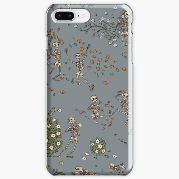 Skeletons with garlands iPhone Snap Case