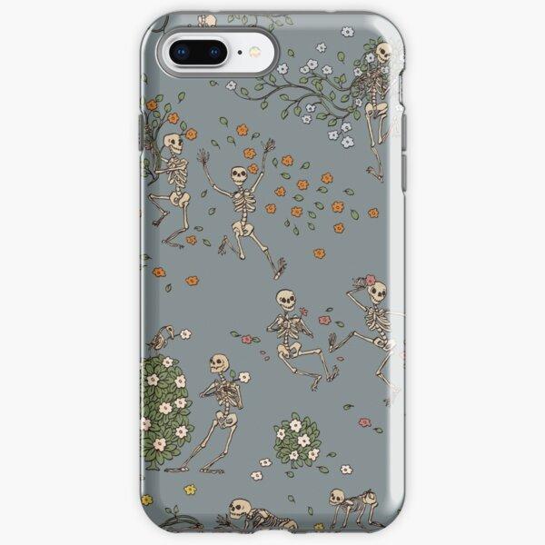 Esqueletos con guirnaldas Funda resistente para iPhone
