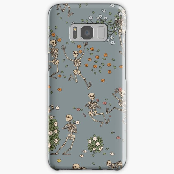 Skeletons with garlands Samsung Galaxy Snap Case
