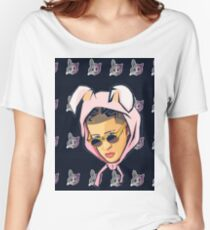 Bad Bunny - Pattern Women's Relaxed Fit T-Shirt