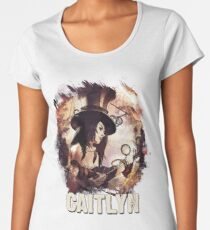 CAITLYN - League of Legends Women's Premium T-Shirt