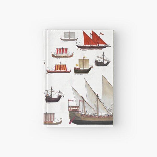 Medieval Ships Hardcover Journal
