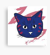 Cat sketch 9 Canvas Print