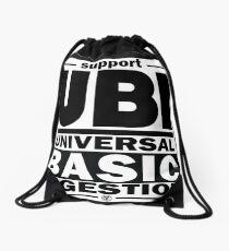 Ingestion | UBI Black Drawstring Bag