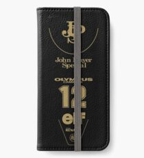 Lotus 97T Ayrton Senna 1985 Livery  iPhone Wallet/Case/Skin