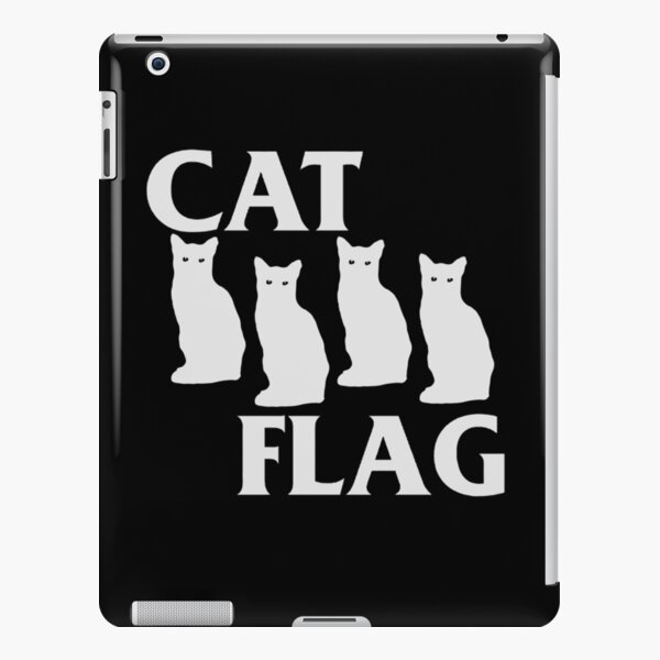 Cat Flag iPad Snap Case
