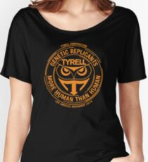 Tyrell Corporation - Orange Women's Relaxed Fit T-Shirt