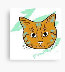 Cat sketch 14 Canvas Print