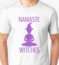 NAMASTE WITCHES (purple) T-Shirt