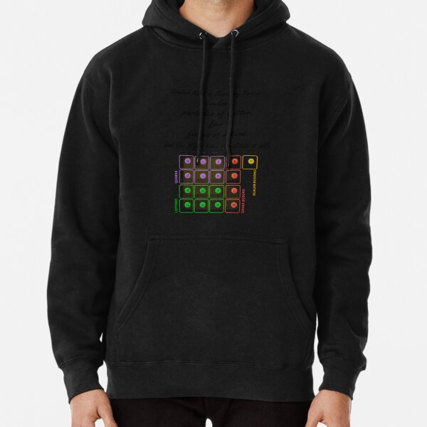Standard Model of Elementary Particles Pullover Hoodie