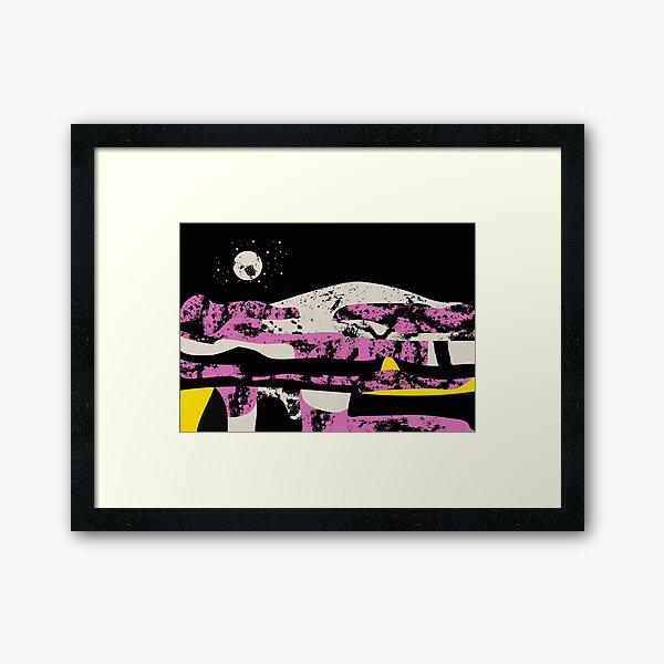 Pink vibe 2 Framed Art Print
