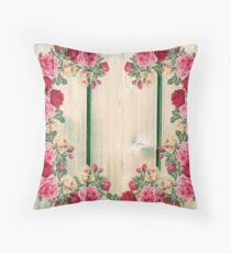 Cojín Vintage Shabby Chic Country Roses
