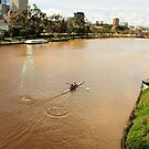 Rowers, Yarra River, Melbourne Photo by Sue Wellington