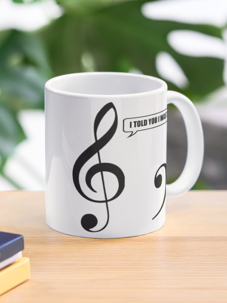 Your Under A Rest Funny Music Pun Mug