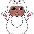 Chubby Cat Kewpie by Natalie Perkins