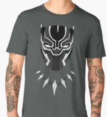 Black Panther Minimalist Men's Premium T-Shirt