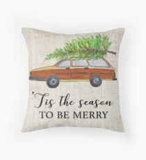 Christmas vacation, tis the season to be merry! Throw Pillow