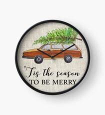 Christmas vacation, tis the season to be merry! Clock
