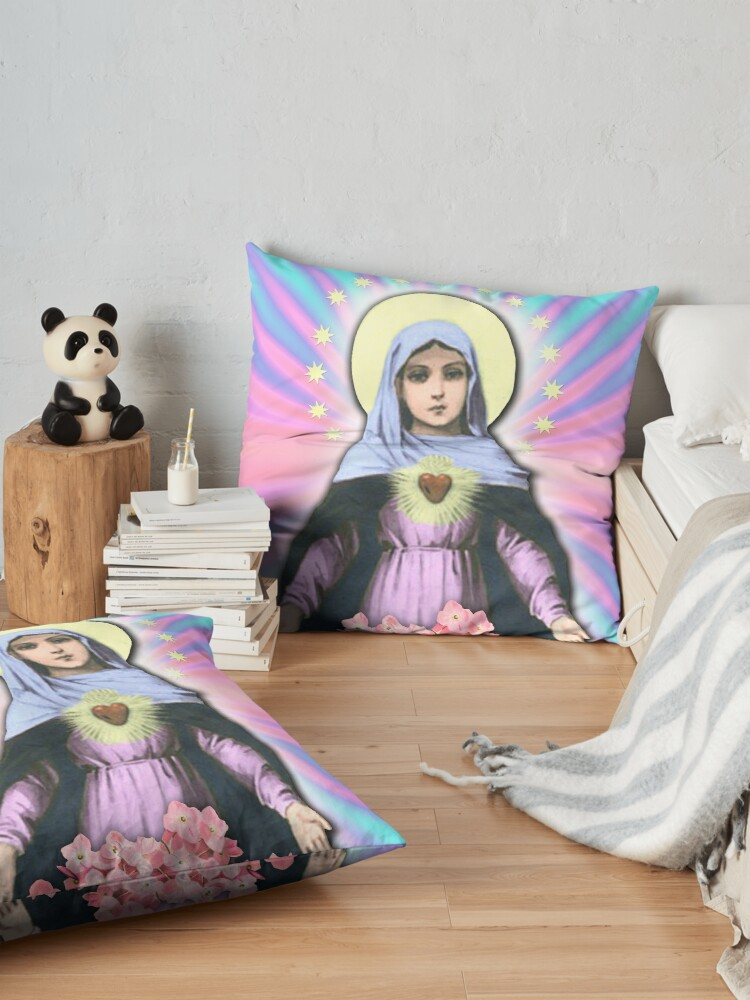 Alternate view of LADY MARY Floor Pillow