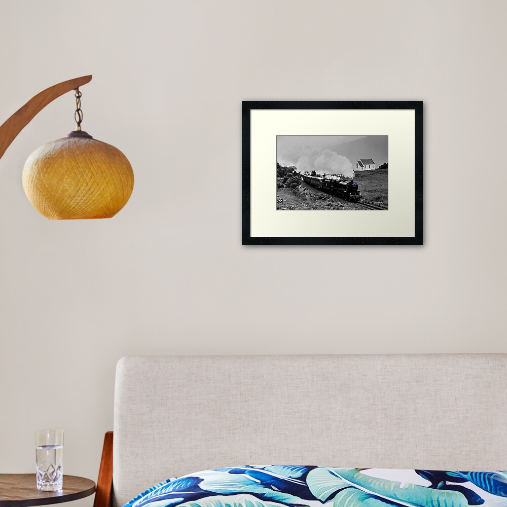 The Jacobite Steam Train. Framed Art Print