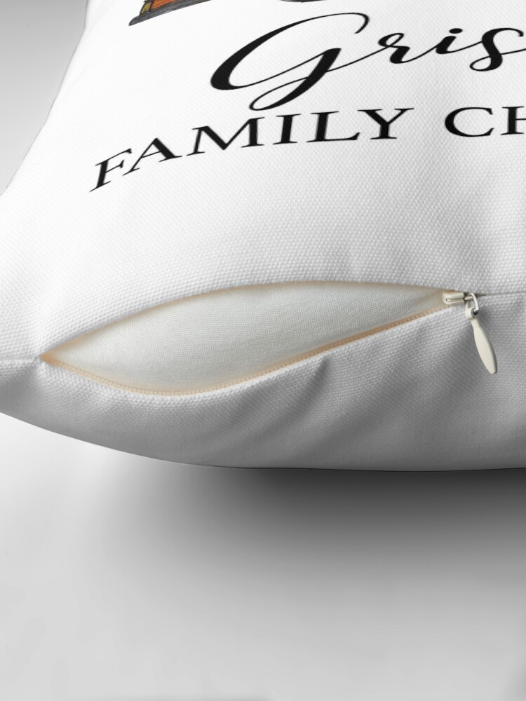 Alternate view of Christmas vacation Griswold family Christmas Throw Pillow
