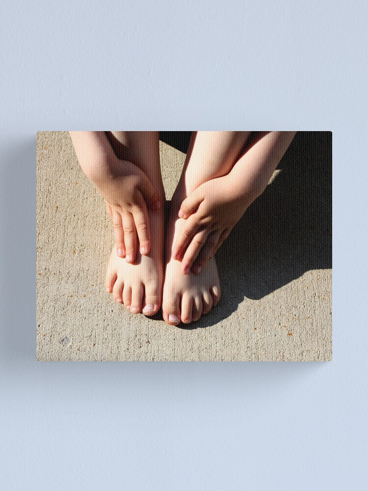 Alternate view of Beautiful Feet Canvas Print