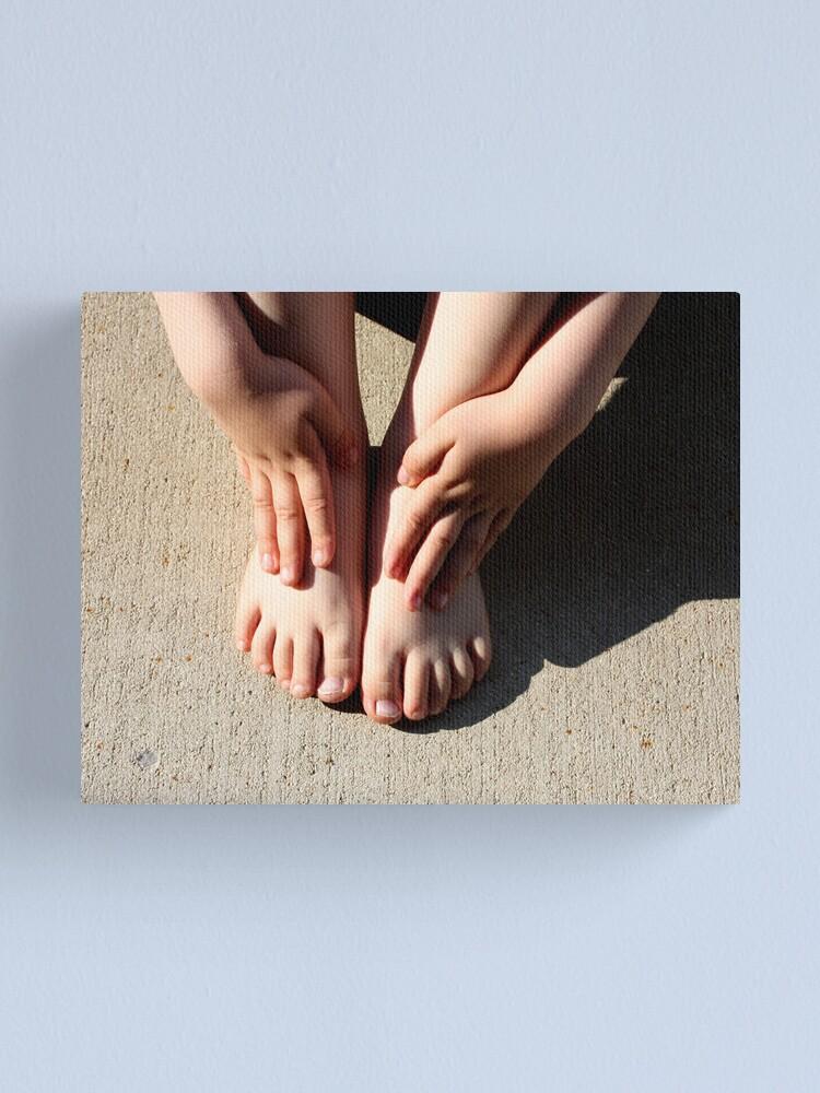Alternate view of Beautiful Feet Canvas Print