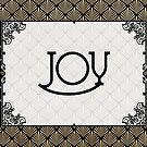Joy - Art Deco by Ruth Moratz