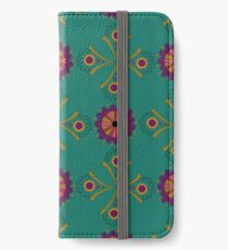 Case with a geometrical pattern iPhone Wallet/Case/Skin